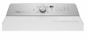 """MEDB766FW Maytag 29"""" 7.0 cu. ft. Front Load Large Capacity Electric Dryer with Sanitize Cycle and Intellidry Sensor - White"""