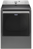 MEDB835DC Maytag 8.8 Cu. Ft. Extra-Large Capacity Electric Dryer with Rapid Dry Cycle and Advanced Moisture Sensing - Metallic Slate