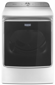 """MEDB955FW Maytag 29"""" Front Load Dryer with the PowerDry System and Extra Moisture Sensor - White"""