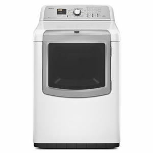 MEDB980BW Maytag 7.3 cu. ft. Bravos XL HE Electric Dryer with Reduce Static Option - White