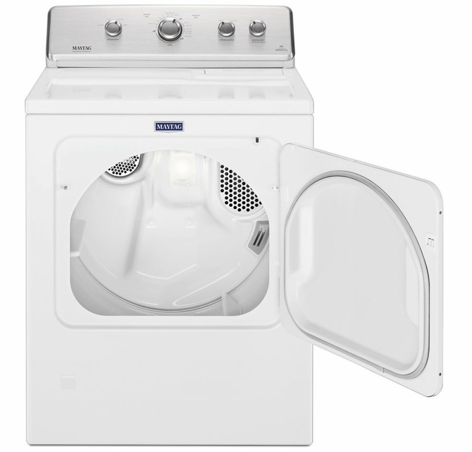 Medc465hw Maytag 29 7 0 Cu Ft Front Load Large Capacity Electric Dryer With Wrinkle Control Option