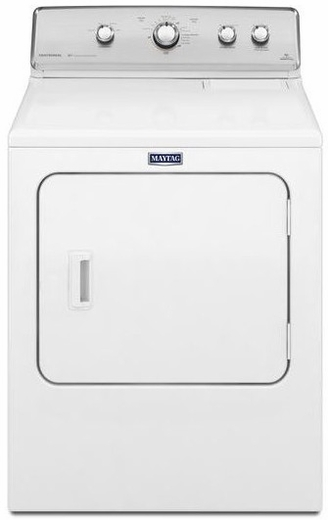 MEDC555DW Maytag Centennial 7.0 Cu. Ft. Electric Dryer with 10-Year Limited Parts Warranty - White