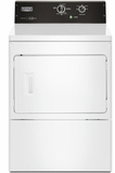 "MEDP575GW Maytag 27"" 7.5 cu. ft. Commercial-Grade Residential Top Load Electric Dryer with Wrinkle Control Cycle and Premium Motor - White"
