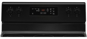 "MER6600FB Maytag 30"" 5 cu. ft. Capacity Freestanding Electric Range with Precision Cooking and Power Burner - Black"