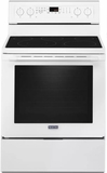 "MER8800FW 30"" Maytag 6.4 cu. ft. Electric Range with True Convection and Power Preheat - White"