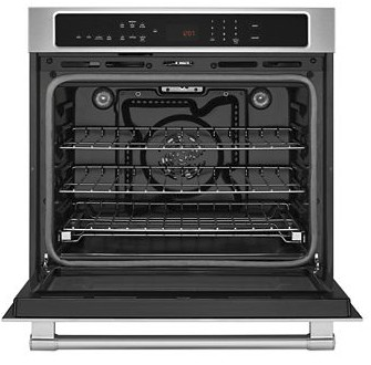 "MEW9527FZ Maytag 27"" Single Wall Oven with True Convection - Fingeprint Resistant Stainless Steel"