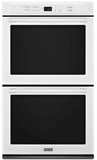 """MEW9627FW Maytag 27"""" Double Electric Wall Oven with True Convection and Variable Broil - White"""