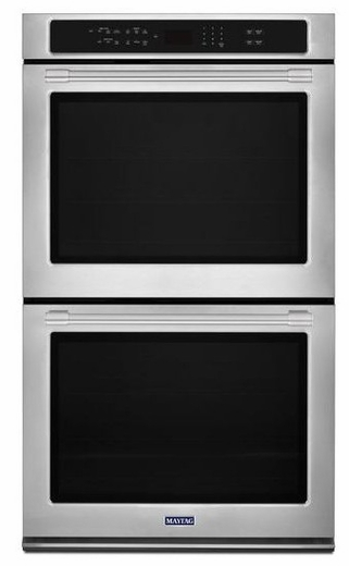 """MEW9630FZ Maytag 30"""" Double Wall Oven with True Convection - Fingerprint Resistant Stainless Steel"""