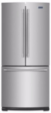 "MFF2055FRZ  Maytag 30"" French Door Refrigerator with BrightSeries LED Lighting and Humidity Controlled FreshLock - Fingerprint Resistant Stainless Steel"