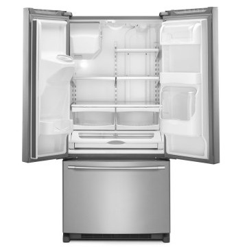 Mfi2269frz 33 Maytag 22 Cu Ft French Door Refrigerator With 3
