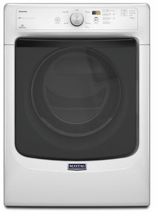 MGD3100DW Maytag Maxima  High Efficiency Gas Dryer with Large Capacity and Advanced Moisture Sensing - White