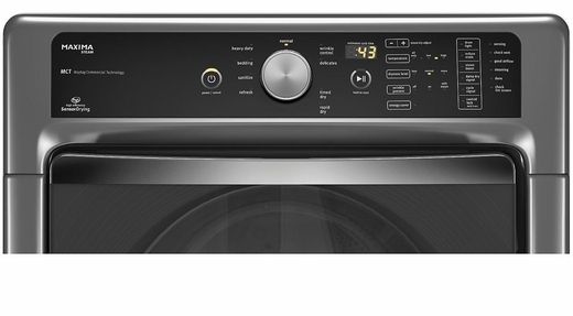 Mgd7100dc Maytag Maxima 7 4 Cu Ft Steam Gas Dryer With