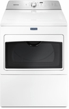 "MGDB765FW Maytag 27"" 7.4 cu. ft. Front Load Large Capacity Gas Dryer with Sanitize Cycle and Intellidry Sensor - Metallic Slate"