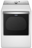 MGDB855DW Maytag Extra-Large Capacity 8.8 Cu. Ft. Gas Dryer with Advanced Moisture Sensing - White