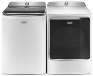 """MGDB955FW Maytag 29"""" 9.2 Cu. Ft. Front Load Dryer with the PowerDry System and Extra Moisture Sensor  - White"""
