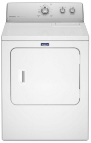 MGDC215EW Maytag 7.0 cu. ft. Gas Dryer with n  AutoDry Moisture Sensor - White