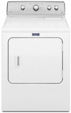 MGDC555DW Maytag Centennial 7.0 Cu. Ft. Gas Dryer with 10-Year Limited Parts Warranty - White