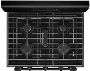 "MGR6600FB Maytag 30"" 5 cu. ft. Capacity Freestanding Gas Range with Precision Cooking and Power Burner - Black"