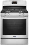 "MGR8650FZ Maytag 30"" 5.8 cu. ft. Gas Range with Fan Convection and Precision Cooking System - Fingerprint Resistant Stainless Steel"