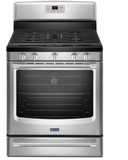 "MGR8700DS 30"" Maytag Freestanding Gas Range With Convection Oven and 5.8 cu.ft Capacity - Stainless Steel"