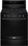 "MGR8800FB 30"" Maytag 5.8 cu. ft. Gas Range with True Convection and Power Preheat - Black"