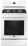 "MGR8800FW 30"" Maytag 5.8 cu. ft. Gas Range with True Convection and Power Preheat - White"