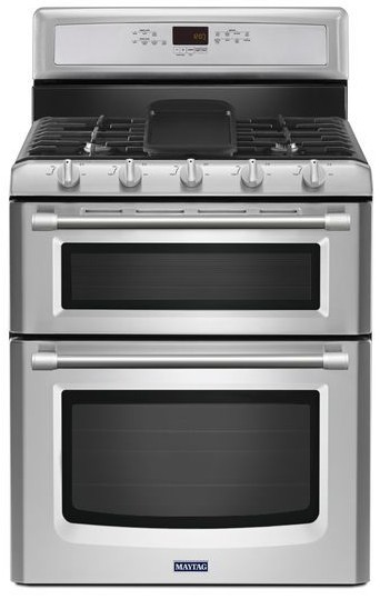 Reviews for mgt8820ds maytag gemini double oven 6 0 total cu ft gas stove with evenair true - Gas stove double oven reviews ...