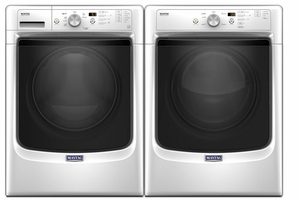 MHW3505FW Maytag 4.3 Cu.Ft. Front Load Washer with Steam & Sanitize - White