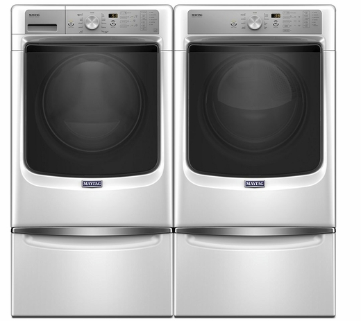 MHW5500FW Maytag 4.5 Cu. Ft. Front Load Washer with Fresh Hold & PowerWash - White