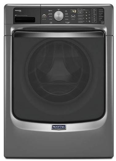 MHW8100DC Maytag Maxima 4.5 cu. ft. Front Load Washer with Steam and PowerWash System - Slate