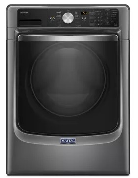 "MHW8200FC Maytag 27"" 4.6 cu. ft. Front Load Washer with the PowerWash System and Fresh Hold Option - Metallic Slate"