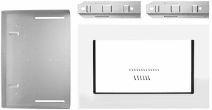"""MKC2157AS KitchenAid 27"""" Trim Kit for 1.5 Cu. Ft. Countertop Microwaves - Stainless Steel"""