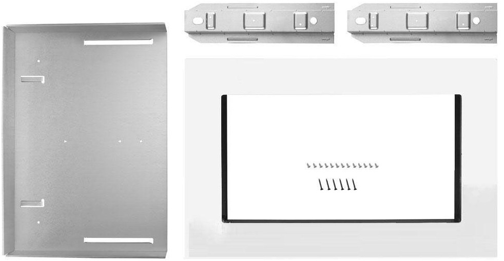 Mkc2157as Kitchenaid 27 Trim Kit For 1 5 Cu Ft Countertop Microwaves Stainless Steel