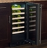 "ML15WSP3LP Marvel 15"" Left Hinge High Efficiency Single Zone Wine Refrigerator with Vibration Neutralization System and Thermal Efficient Cabinet - Solid Panel Ready Frame Door"