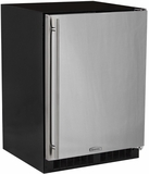"""ML24FAP2LP Marvel 24"""" Left Hinge Solid Panel Undercounter All Freezer with Dynamic Cooling Technology and Close Door Assist System - Custom Panel"""