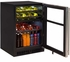"""ML24WBF2RP Marvel 24"""" Right Hinge Glass Frame Door Dual Zone Wine Beverage Center with Vibration Neutralization System and Thermal Efficient Cabinet - Custom Panel Ready"""