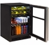 "ML24WBG1LS Marvel 24"" Left Hinge Glass Frame Door Dual Zone Wine Beverage Center with Vibration Neutralization System and Thermal Efficient Cabinet - Stainless Steel"