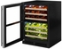 """ML24WDG3LB Marvel 24"""" Left Hinge High Efficiency Glass Frame Door Dual Zone Wine Refrigerator with Vibration Neutralization System and Thermal Efficient Cabinet - Black"""