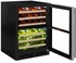 "ML24WDG3RS Marvel 24"" Right Hinge High Efficiency Glass Frame Door Dual Zone Wine Refrigerator with Vibration Neutralization System and Thermal Efficient Cabinet - Stainless Steel"