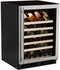 "ML24WSG0RS Marvel 24"" Right Hinge Standard Efficiency Glass Frame Door Single Zone Wine Refrigerator with Vibration Neutralization System and Thermal Efficient Cabinet - Stainless Steel"