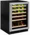 """ML24WSP4RP Marvel 24"""" Right Hinge High Efficiency Glass Frame Door Single Zone Wine Refrigerator with Vibration Neutralization System and Thermal Efficient Cabinet - Solid Panel Ready"""