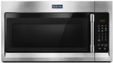 "MMV1174FZ Maytag 30"" 1.7 cu. ft. Capacity Over the Range Microwave with 1000 Cooking Watts and 300 CFM - Fingerprint Resistant Stainless Steel"