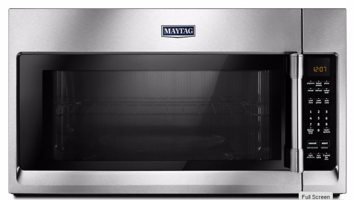 Reviews for mmv4206fz maytag over the range microwave with interior cooking rack fingerprint for Stainless steel interior microwave reviews