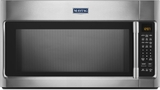 "MMV5219FZ Maytag 30"" 2.1 cu. ft. Over-the-Range Microwave with Sensor Cooking and WideGlide Tray - Stainless Steel"