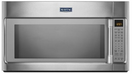 Mmv6190ds Maytag 19 Cu Ft Over The Range Microwave With Evenair