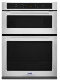 "MMW9730FZ Maytag 30"" Combination Microwave Wall Oven with True Convection and Power Preheat - Fingerprint Resistant Stainless Steel"