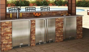 """MO15RAS2RS Marvel 15"""" Outdoor Refrigerator - Right Hinge - Stainless Steel"""