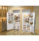 Monogram All Freezer & All Refrigerator Units
