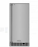 """MP15CLS2RS 15"""" Marvel Indoor Clear Ice Maker with 35 Lbs. Ice Storage and Touch Screen Controls - Right Hinge - Stainless Steel"""