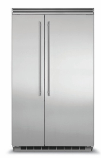 "MP48SS2NS 48"" Marvel 29.05 Cu. Ft. Side-by-Side Refrigerator with Dynamic Cooling Technology and Digital Controls - Stainless Steel"